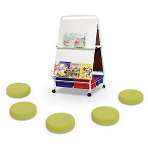 04 Baby Folding Wheasel w-Tubs + Dot 5-Pack Zest 300-1