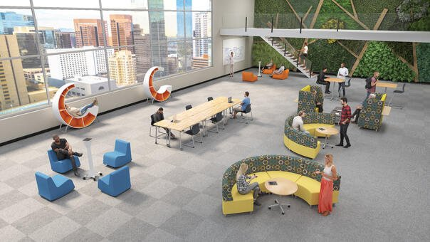 Commons Area Thrive Environment w-People
