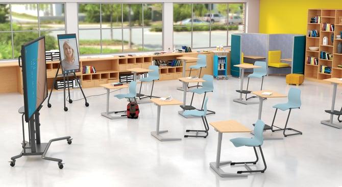 Covid Opti Hybrid Classroom w-i3Sixty (1)