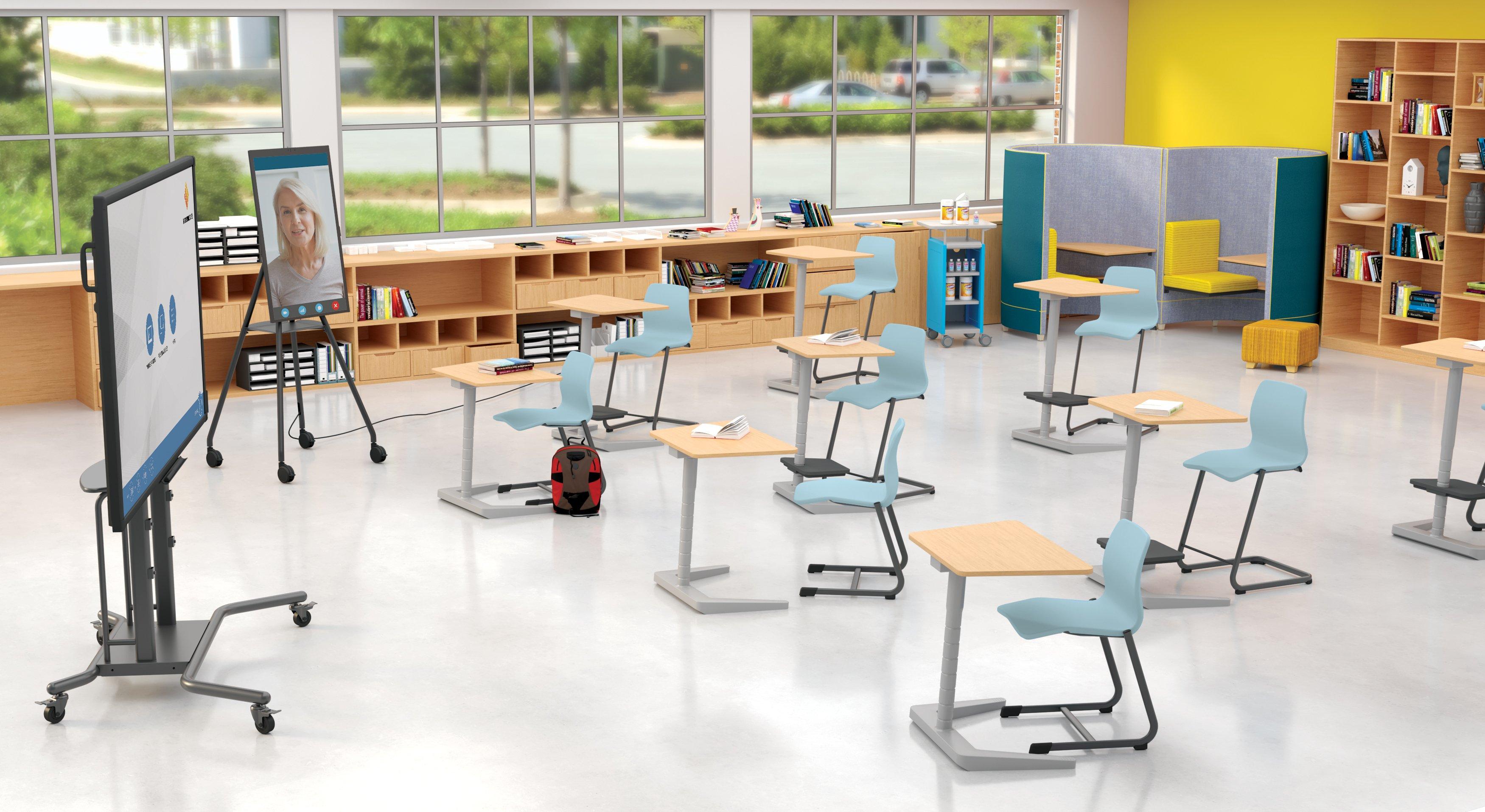 Covid Opti Hybrid Classroom w-i3Sixty