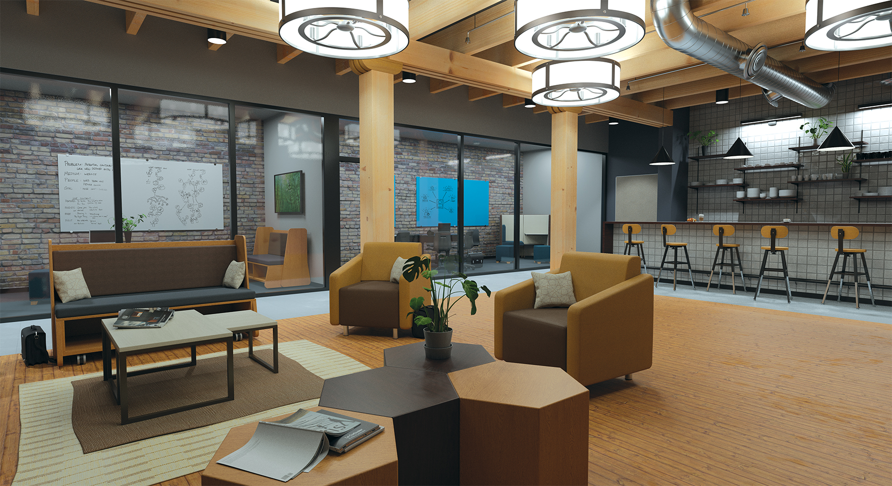 VNA ReWork Office Lounge Area 07-18-18