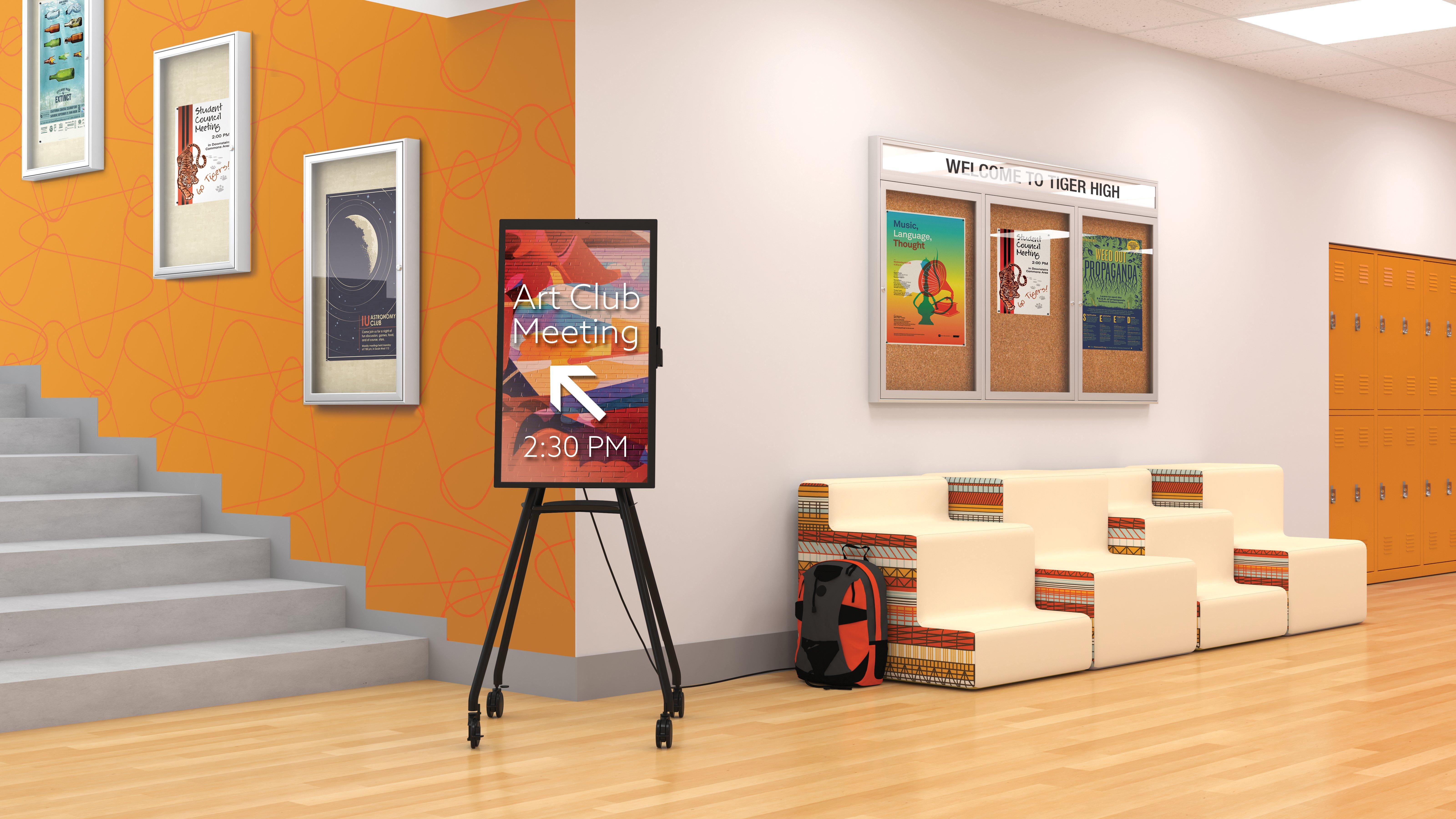 i3-edu Hallway Environment