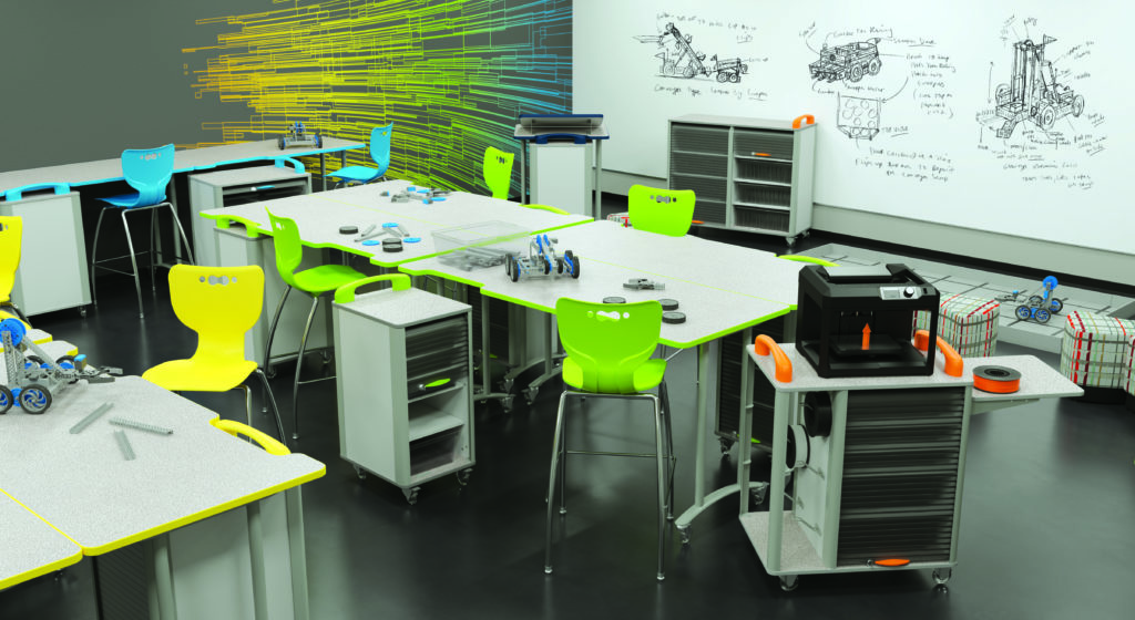 Makerspace Tables Classroom Active Classroom