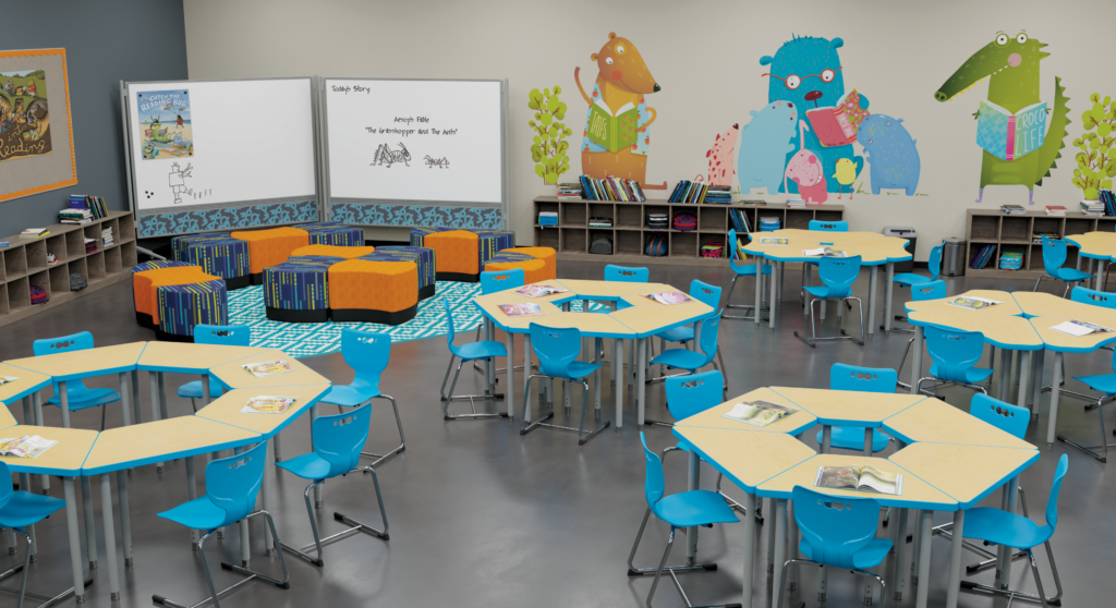 Dividing Your Classroom Space While Keeping It Integrated