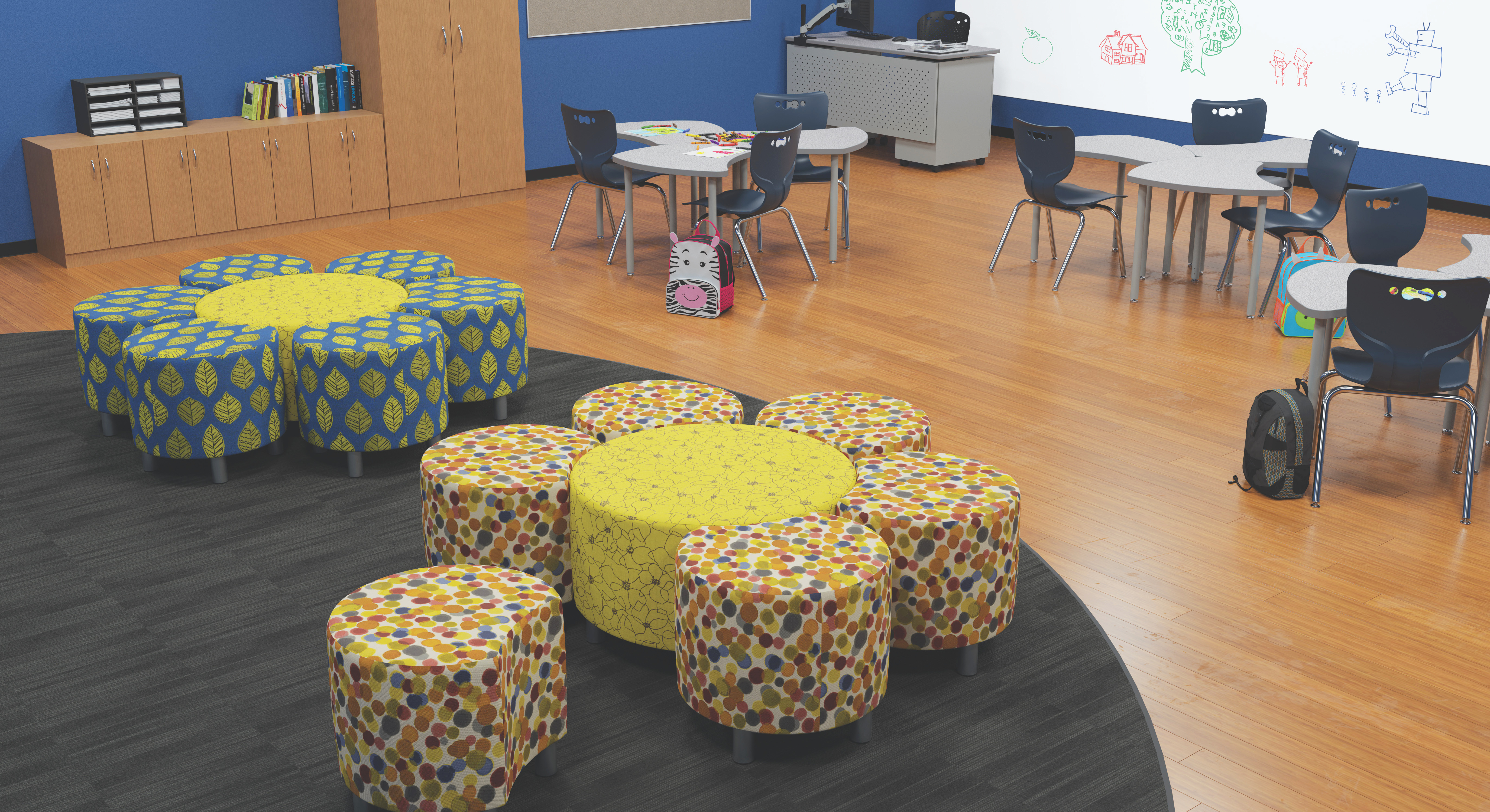 x modular soft seating